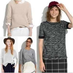 Bundle of 4 Madewell Sweaters Top S XS XXS